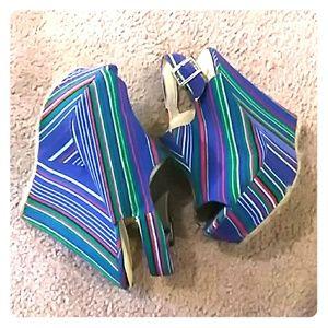 Wedged heels 7 1/2
